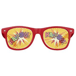 Comic Book KA-POW! party sunglasses