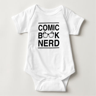 Comic Book Nerd Baby Bodysuit