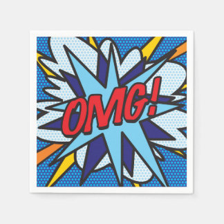 Comic Book OMG! Paper Napkins