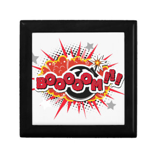 Comic Book Pop Art Boom Explosion Gift Box