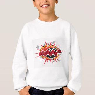 Comic Book Pop Art Boom Explosion Sweatshirt