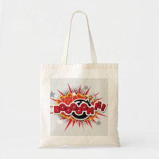 Comic Book Pop Art Boom Explosion Tote Bag