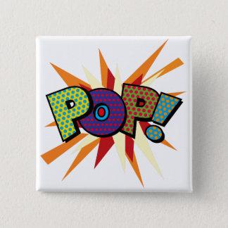 Comic Book Pop Art POP! 15 Cm Square Badge