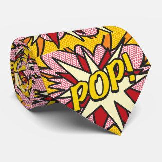 Comic Book Pop Art POP / DAD Tie