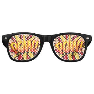 Comic Book Pop Art POW! party sunglasses