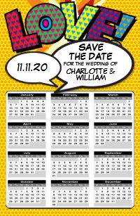 Uf Calendar 2020.Calendar Save The Date Refrigerator Magnets Zazzle Com Au