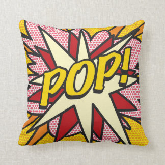 Comic Book POP! Throw Pillow