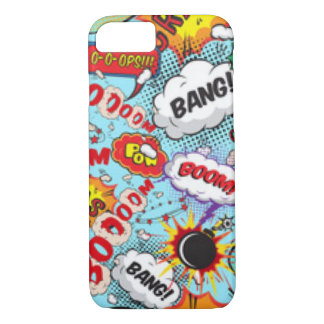 Comic Book Text & Word Bubbles iPhone 8/7 Case