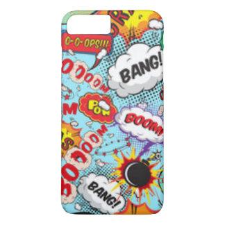 Comic Book Text & Word Bubbles iPhone 8 Plus/7 Plus Case