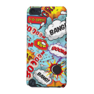 Comic Book Text & Word Bubbles iPod Touch (5th Generation) Case
