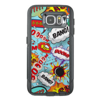 Comic Book Text & Word Bubbles OtterBox Samsung Galaxy S6 Case