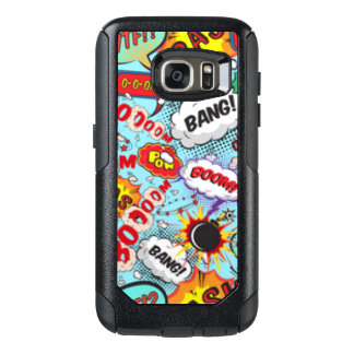 Comic Book Text & Word Bubbles OtterBox Samsung Galaxy S7 Case