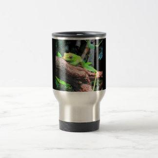 Comic Book Tree Frog Stainless Steel Travel Mug