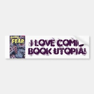 Comic Book Utopia WF Bumper Sticker