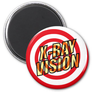 Comic Book X-RAY VISION Magnet