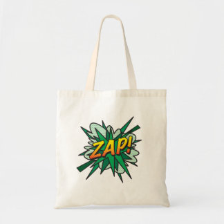 Comic Book ZAP! Tote Bag