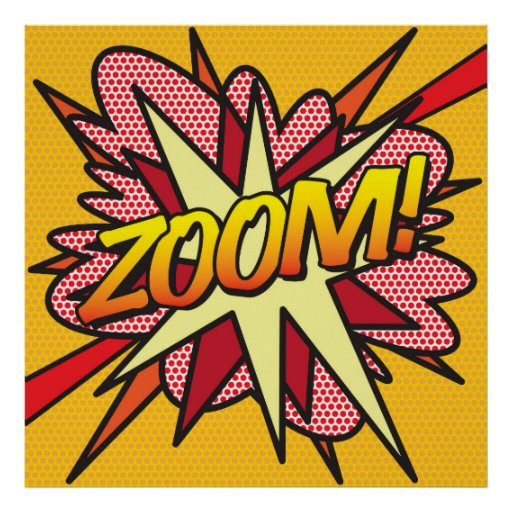 Comic Book ZOOM! Poster