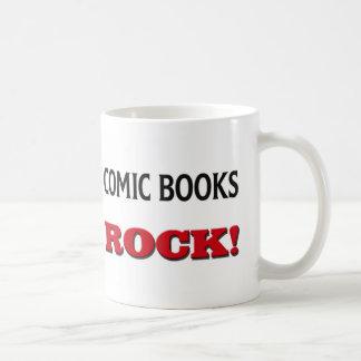 Comic Books Rock Basic White Mug