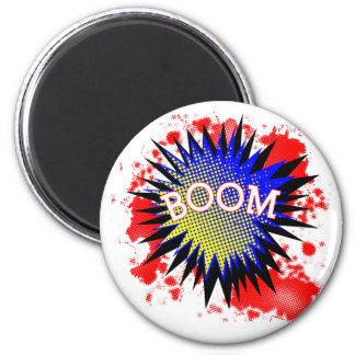 Comic Boom Magnet