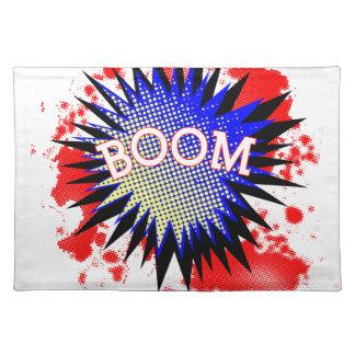Comic Boom Placemat