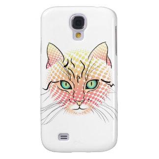 Comic Cat Galaxy S4 Covers