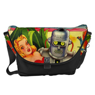 Comic cover courier bags