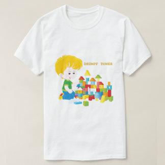Comic Drumpf Tower T-Shirt