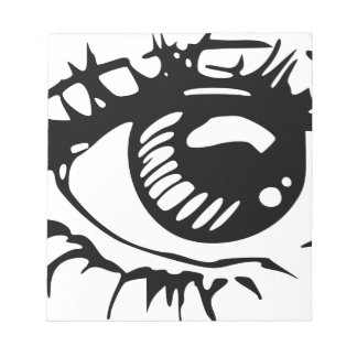 Comic Eye Notepad