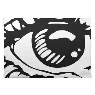 Comic Eye Placemat