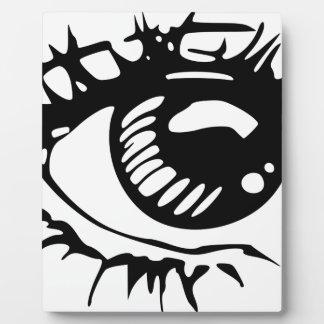 Comic Eye Plaque