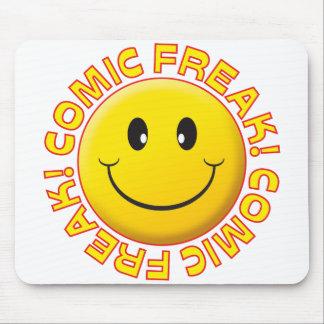 Comic Freak Smile Mouse Pad