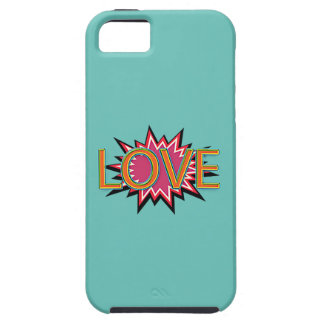 Comic Girl iPhone 5 Cover