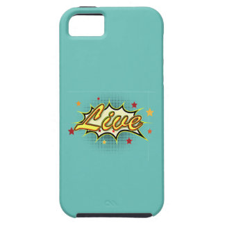 Comic Girl Tough iPhone 5 Case