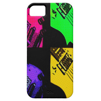 COMIC GUITAR ART CASE FOR THE iPhone 5