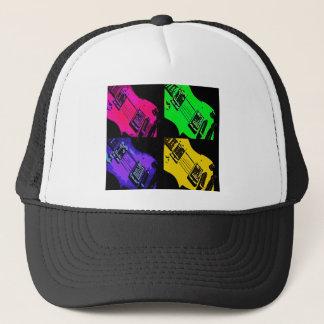 COMIC GUITAR ART TRUCKER HAT