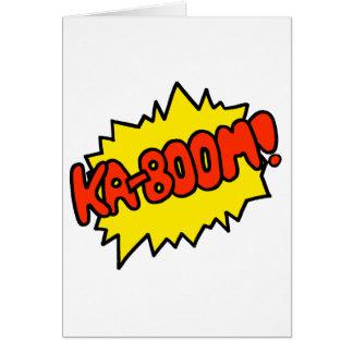 Comic 'Ka-Boom!' Card