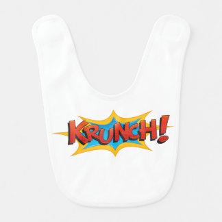Comic Krunch! Bib