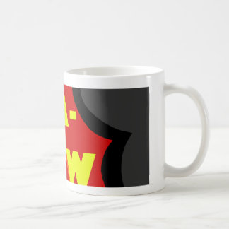 Comic Classic White Coffee Mug