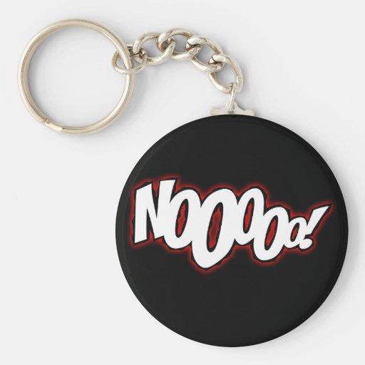 Comic - NOOOOO! keychain