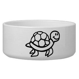Comic ocean turtle