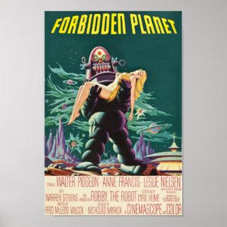 Comic planet poster