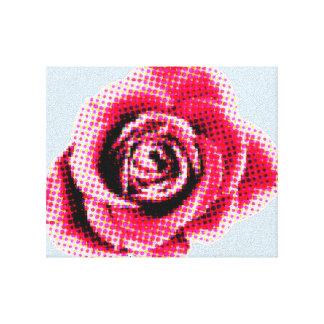Comic Rose Canvas