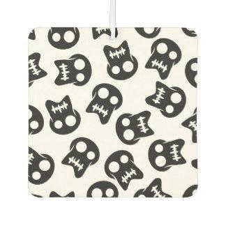 Comic Skull black pattern Car Air Freshener