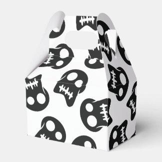 Comic Skull black pattern Favour Box