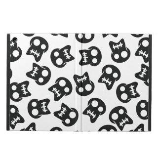 Comic Skull black pattern iPad Air Cover