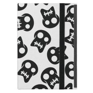 Comic Skull black pattern iPad Mini Cover