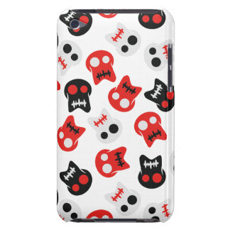 Comic Skull colorful pattern Barely There iPod Cover