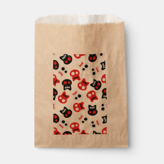 Comic Skull colorful pattern Favour Bag
