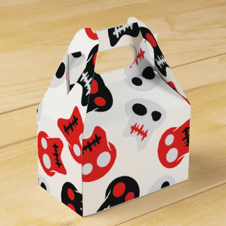 Comic Skull colorful pattern Favour Box