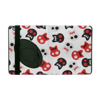 Comic Skull colorful pattern iPad Case